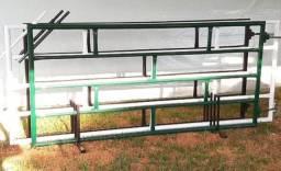 Porteira De Ferro Tubular 1,2x2,5 metros