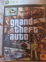 Vendo ou troco GTA 4 Original para Xbox 360 faço teste também