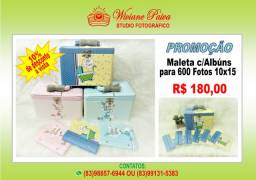 Maleta com 06 Álbuns 10X15