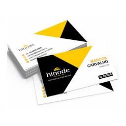 Mega promoção de cartão de visita, frente e verso colorido
