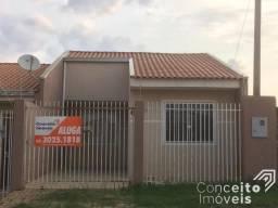 Casa para alugar com 2 dormitórios em Uvaranas, Ponta grossa cod:393145.001