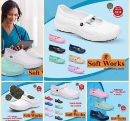 Sapatos hospitalares