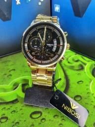 Relógio Nibosi Original Funcional
