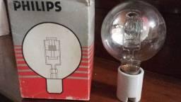 Lampada para Holofote de Buscas  1000 W/ 220 Vca  Espelhada Nova