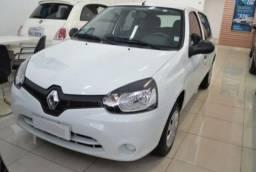 Novo Renault Clio 1.0 Expression impecável Flex manual revisado