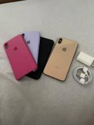 IPhone XS Max 64GB Gold (Funciona tudo)