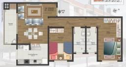 Apartamento 1 suite 1 quarto - Perto a UFSM