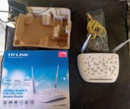 Modem e Roteador TP Link TD-W9970