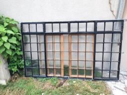 Vitros / janelas ( vendo tudo com negociação)