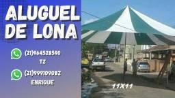 ALUGUEL DE LONA 11X11