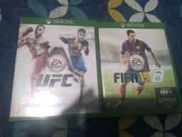 UFC SPORTS+FIFA 15 XONE ORIGINAIS