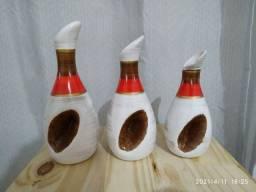Trio de vaso decorativo