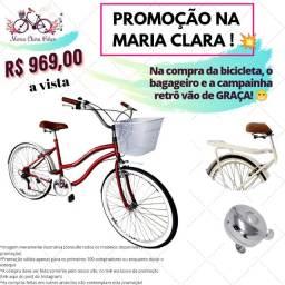 Título do anúncio: Bicicleta aro 26 adulto com aero e freios de alumínio nova com NF garantia
