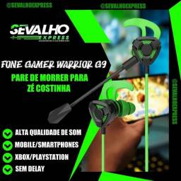 Fone gamer Mobile/xbox/PlayStation