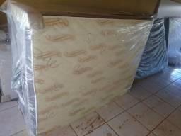 ¥ cama box casal 10 cm de espuma entregamos sem taxa de entrega