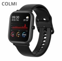 Smartwatch Colmi P8 SE Preto - Produto Lacrado