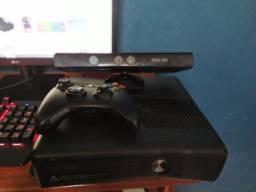 Xbox 360 slim desbloqueado (fonte está queimada)
