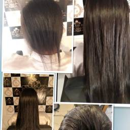 Título do anúncio: Mega Hair alongamento. Sobrancelha Micro fio