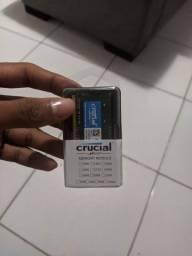 Memória RAM DDR4 2133Mhz *NOTEBOOK*