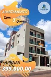 Apartamento a venda com 3 quartos , no Jardim Carvalho