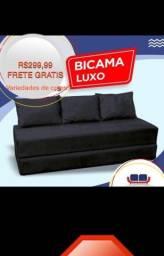 BICAMA LUXO 299,99 FRETE GRÁTIS