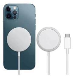 Carregador Sem Fio Magsafe Wireless iPhone 12 11 X Xr Xs 8 Pro Max Mini