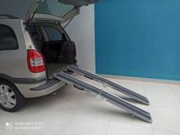 Rampa para cadeira de rodas.