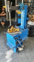 Maquina desmontadora de pneus borrachinha 220wtss