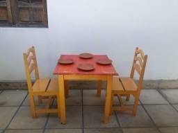 Mesas para restaurante de madeira