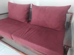 Vendo sofá de palite