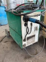 Máquina de solda mig e máquina de solda eletrodo
