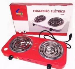 Fogareiro Elétrico 2000w 110v 2 Bocas 5 Temperaturas