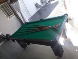 Título do anúncio: Mesa Charme Tecido Verde Bilhar Mod. 627IC5BJ