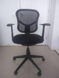 Cadeira homeoffice regulagem nas costas