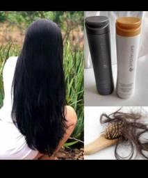 Chega de sofrer com queda , tenha um cabelo lindo e saudável