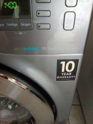 Lavadora e secadora Samsung