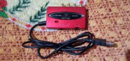 Interface de audio uca 222