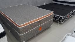 Cama casal padrão conjunto pelmex - entrega grátis no mesmo dia do pedido