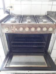 Fogão Dako top grill