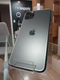 iPhone 11 Pro Max Apple 256GB Grafite 6,7 -Novos/12xSemJuros/Garantia/LojaFísica
