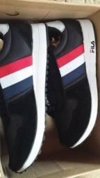 Sapato fila original da fábrica