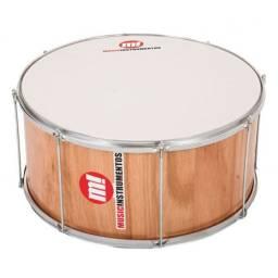 Zabumba Profissional 18 pol 20cm madeira PHX Music 425A 18x20