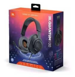 Fone De Ouvido Jbl Quantum 100 Over-ear Para Jogos Pc Xbox<br><br>