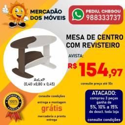 Mesa De Centro Com Revisteiro Super Barata!!!