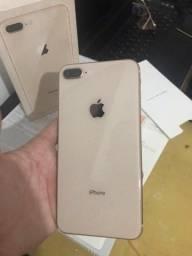 iPhone 8Plus 256GB C/Nota e garantia
