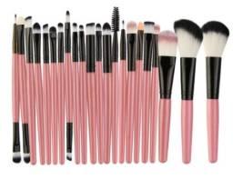 22 pincéis de maquiagem