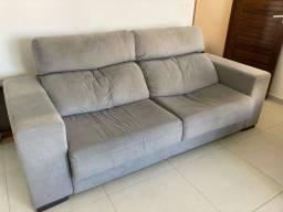 Sofá retrátil e reclinável,  grande