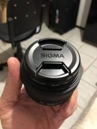 Lente Sigma para Nikon f 1.4 30mm