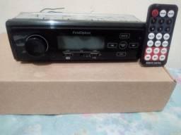 Rádio com Bluetooth USB + controle remoto/pneu 185/60 R15