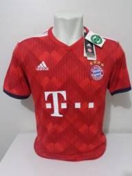 Camisa Bayern de Munique 2018-19 Adidas